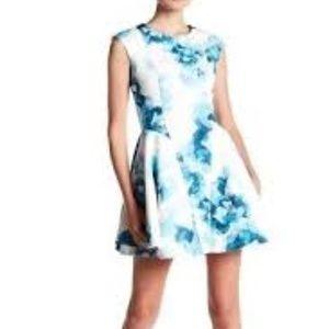 Keepsake Another World Floral Print Dress
